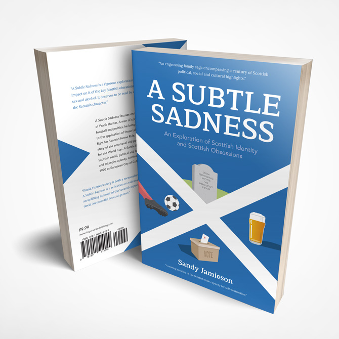 A Subtle Sadness Book Cover Design