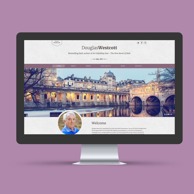 Douglas Westcott Website Design