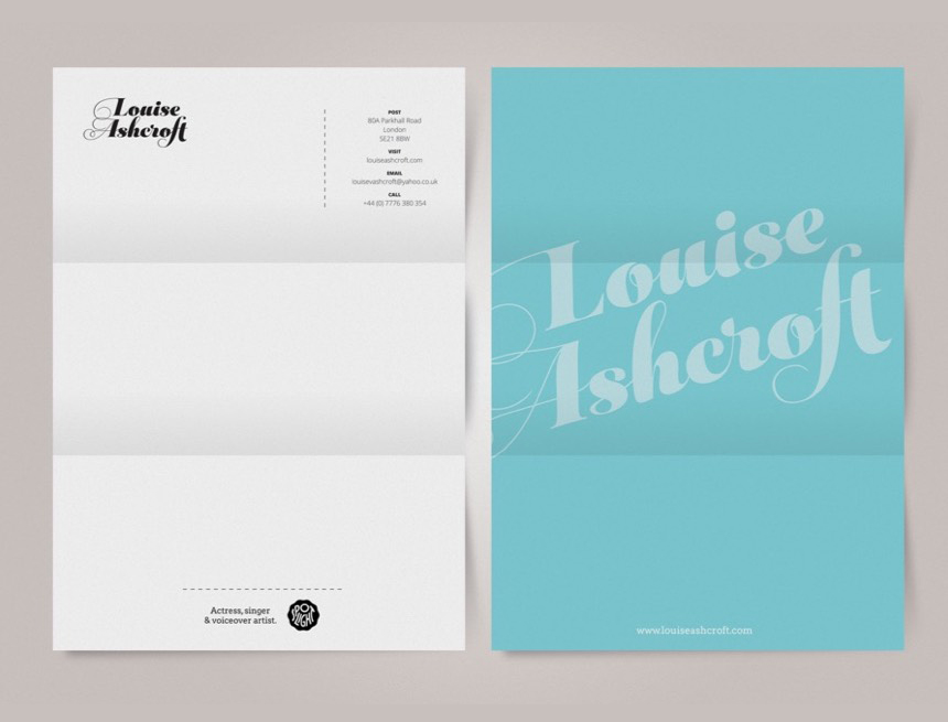 Louise Ashcroft Stationery