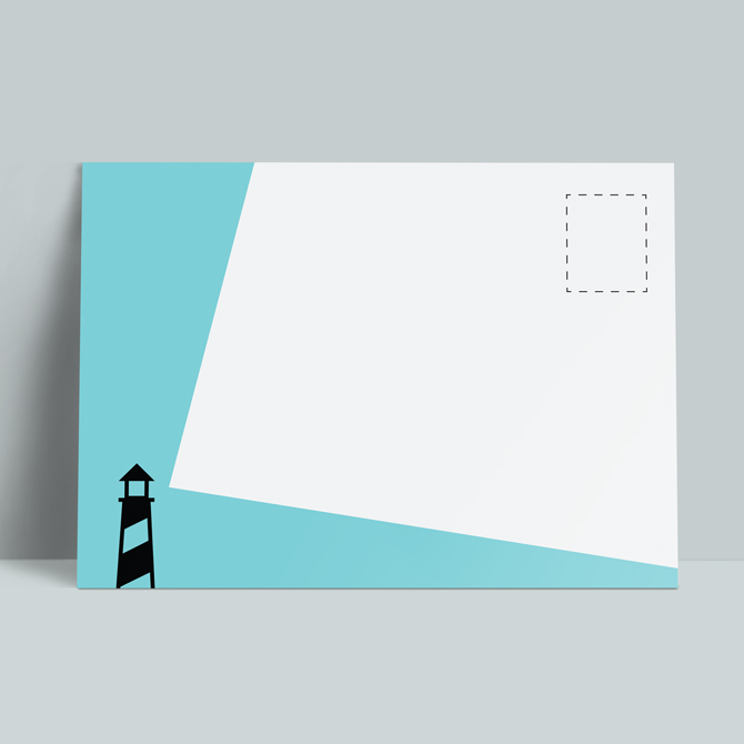 Louise Ashcroft Postcard Design