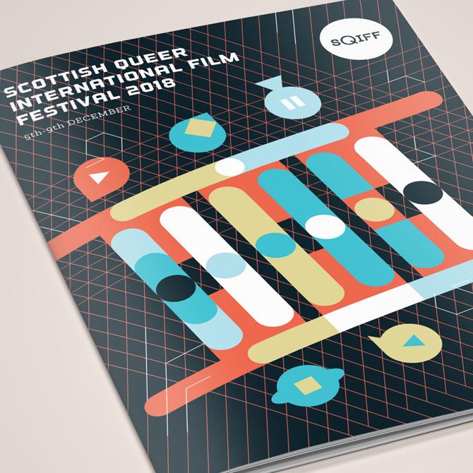 SQIFF Programme Cover Design